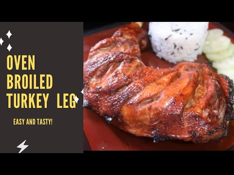 Oven Broiled Turkey Thighs