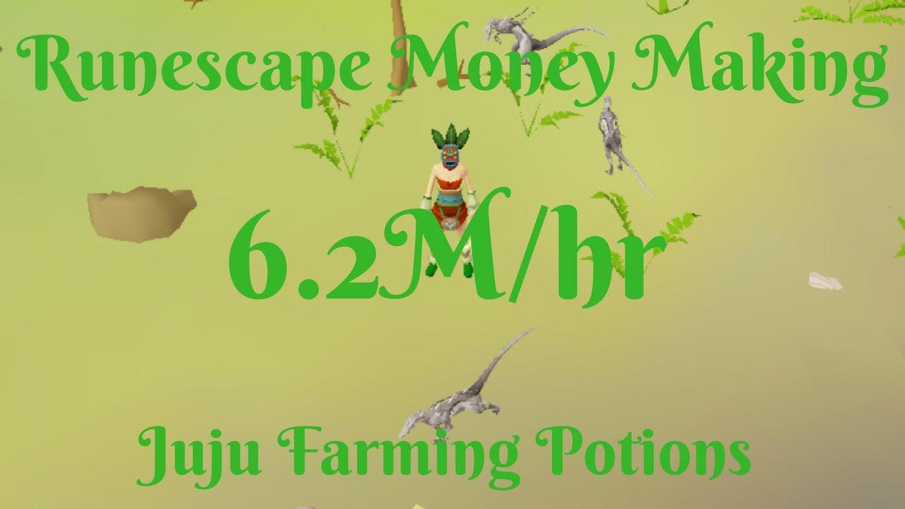 6 2m Hr Skilling Multiskill Herblore Habitat Making Juju Farming Potions Youtube