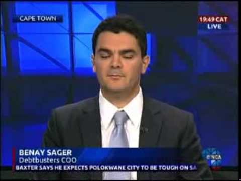 Consumer Credit Crisis - DebtBusters COO, Benay Sager, on eNCA News