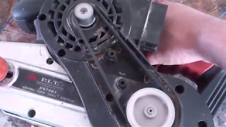 Ремонт шліфувальної машинки ''PIT''. Repair of the grinding machine ''PIT''.