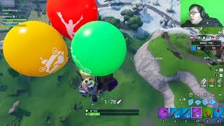THE WORST BALLOON SNIPER EVER (And That Is Me) | Fortnite