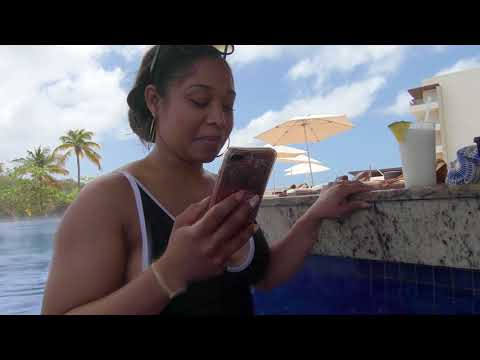 Mark and Kecil Honey moon trip to Royalton St Lucia. March 25th 2018
