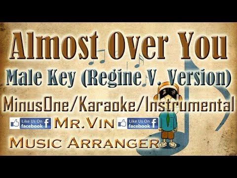 Almost Over You - Janno Gibbs Key (Regine V. Arrangement) - MinusOne/Karaoke/Instrumental HQ