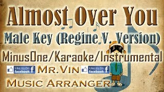 Almost Over You - Janno Gibbs Key (Regine V. Arrangement) - MinusOne/Karaoke/Instrumental HQ