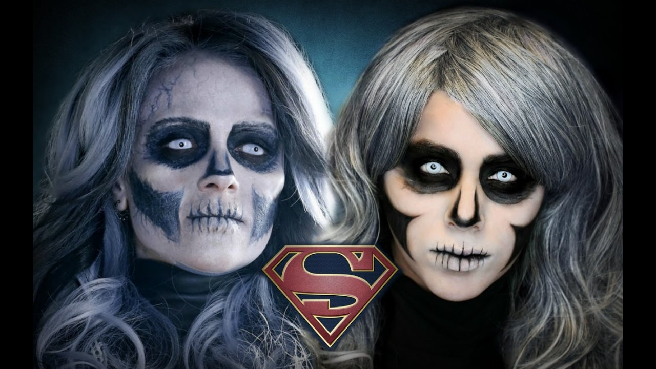 Supergirl Silver Banshee | Halloween Makeup - YouTube