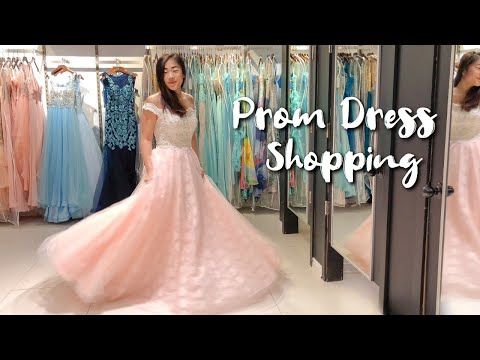 PROM ADVENTURE | Prom Dress Shopping In Montreal ♡