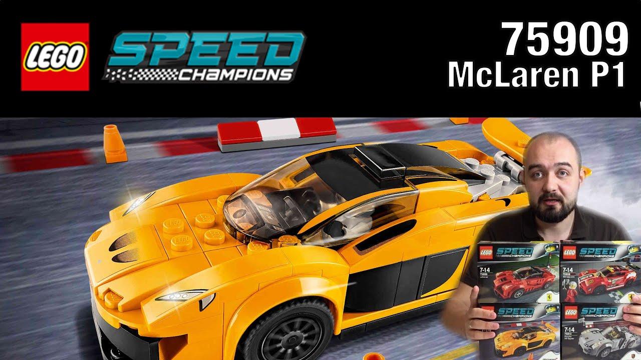 Lego Speed Champions McLaren P1 75909 - YouTube