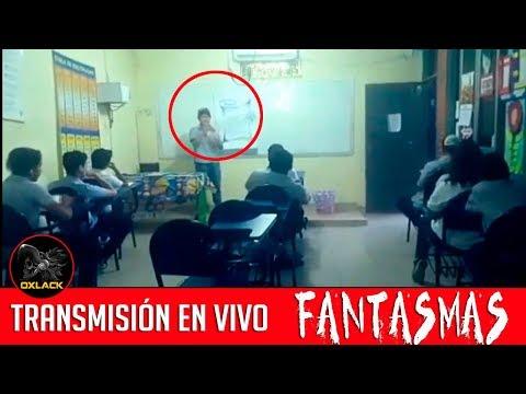 FANTASMA EN EL SALÓN DE CLASES Y CAPTAN UN POLICÍA FANTASMA ANÁLISIS @OxlackCastro