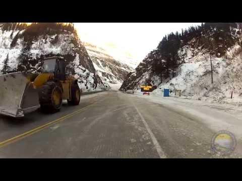 ADOT&PF 2014 Valdez Avalanche Mitigation Efforts