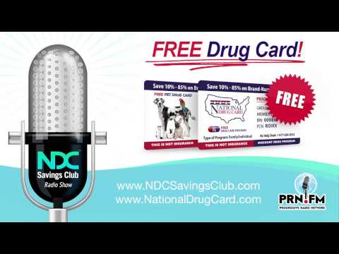 NDC Savings Club Radio Show - National Drug Card