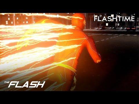 CGI Central City Progress - CW The Flash Particles V8 Overflow - Flashtime