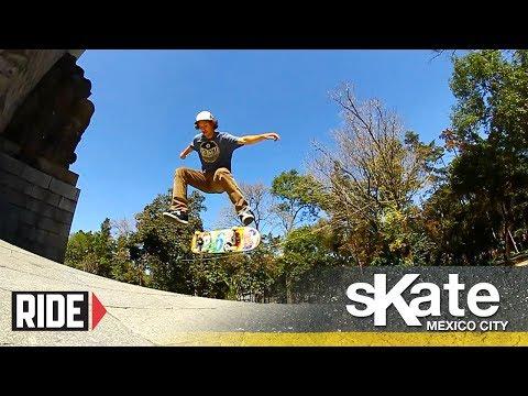 SKATE Mexico City with Mario Saenz