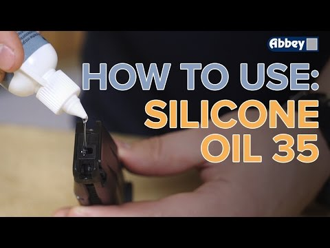 How To Use Abbey Supply Silicone Gun Oil 35 On Airsoft Guns