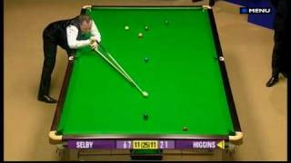 Snooker - Alan Chamberlain refuses to clean the red (World Championships 2009 - 29.04.09)