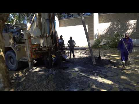 SSISA Borehole Drilling - we have WATER!