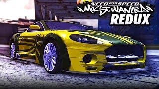 Need for Speed MOST WANTED REDUX | Blacklist #3: RONNIE