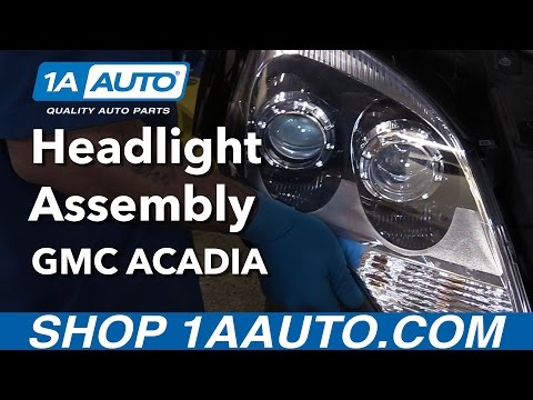 How to Replace Headlights 10-12 GMC Acadia