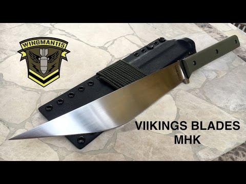VIKINGS Blades MHK -Modern Hmong Knife