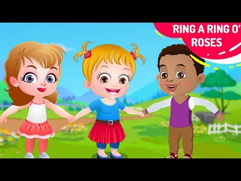 Ring A Ring O Roses - Ring Around the Rosie | More Nursery Rhymes & Kids Songs By Baby Hazel