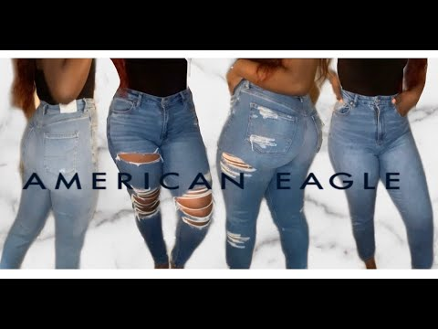 Curvy Jeans Try On For Thick Girls FT American Eagle   ASHLEY CHEVALIER