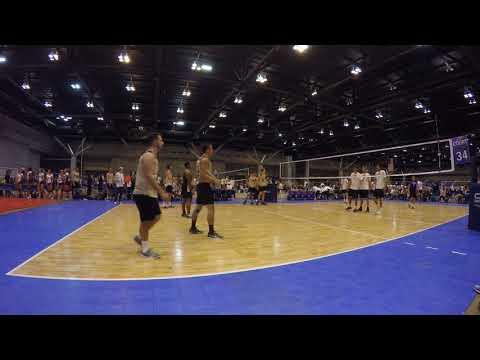 UCF Mens Volleyball vs UC Santa Barbara 2018 NCVF Nationals