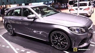2019 Mercedes C220d Wagon - Exterior and Interior Walkaround - 2018 Geneva Motor Show