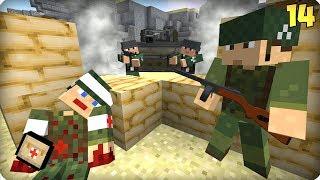 Вторая Мировая Война [ЧАСТЬ 14] Call of duty в Майнкрафт! - (Minecraft - Сериал)