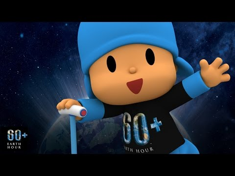 Ajude o planeta com POCOYO e HORA DO PLANETA 2017 | EARTH HOUR 2017