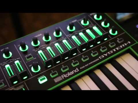 AIRA electronic music gear in action!