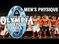 Mr Olympia Amateur 2017 Men's Physique, Mumbai India Posing 1