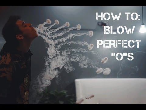 Vape Trick Tutorial - How to: Blow O's