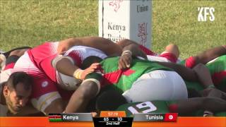 Kwesé Sports Rugby Africa Gold Cup: Kenya v Tunisia