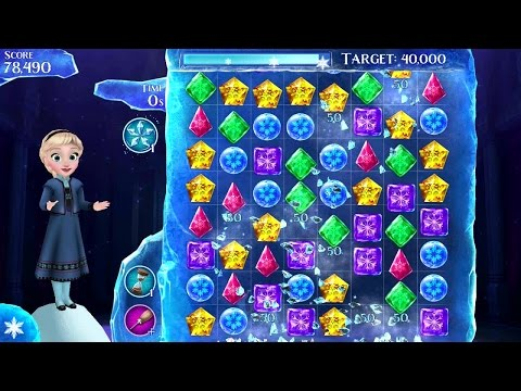 Frozen Free Fall Android Gameplay