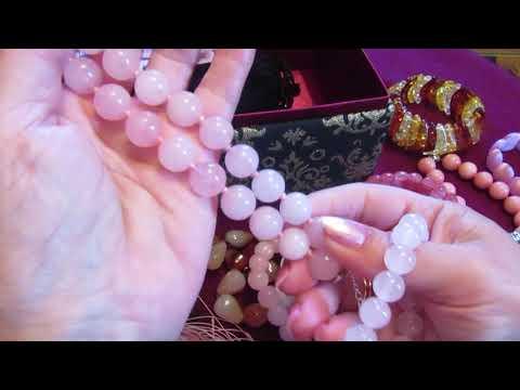 Мои любимые украшения! Кольца ,браслеты и колье -натуральные камни.
