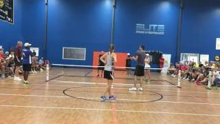 pickleball dream team match ansboury staub vs blom blom pickleball summit charlotte