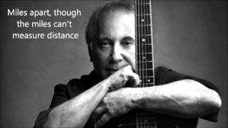 Paul Simon - Dazzling Blue - Lyrics OnScreen
