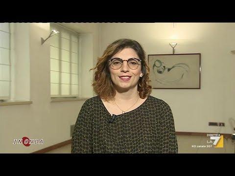 Laura Castelli (M5S) a In Onda - La7 (INTEGRALE) 13/7/2018