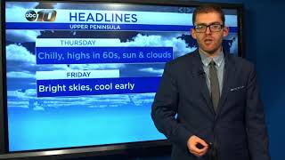 Upper Peninsula Weather Forecast - August 21, 2019