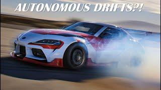 Toyota Supra By TRI - Self-Driving Drift Car!