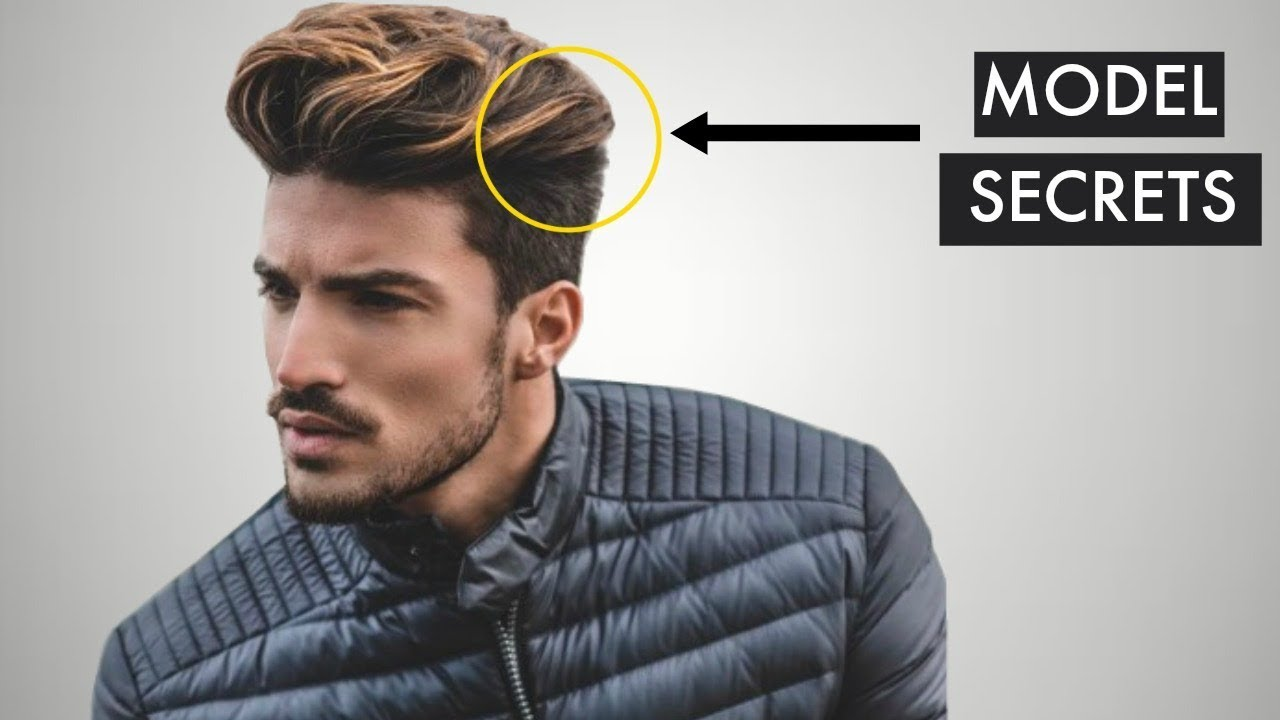 5 secrets male models use to look more attractive