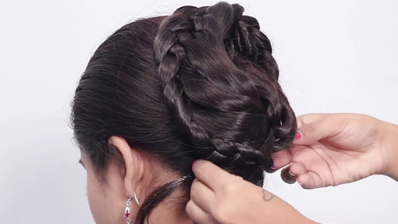 Beautiful Hairstyles for Wedding/party/function | Hair Style Girl | Bridal Bun Hairstyles