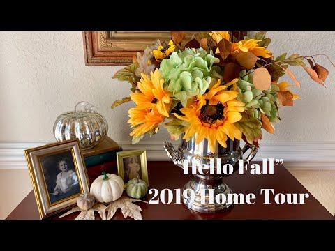 """""""Hello Fall"""" - 2019 Home Tour🍂🍁🐿"""