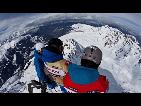 The Challenges of Competitive Freeride Snowboarding - Road to Xtreme Verbier - Part 2