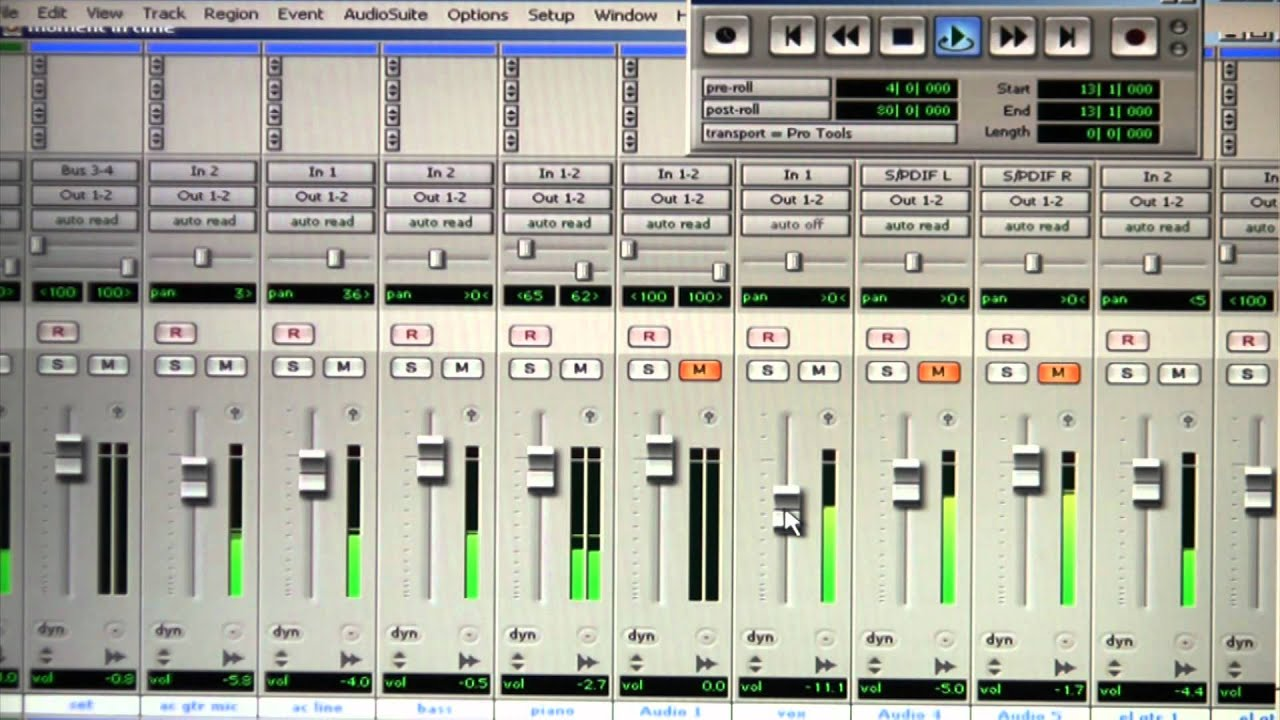 how to edit vocals in pro tools