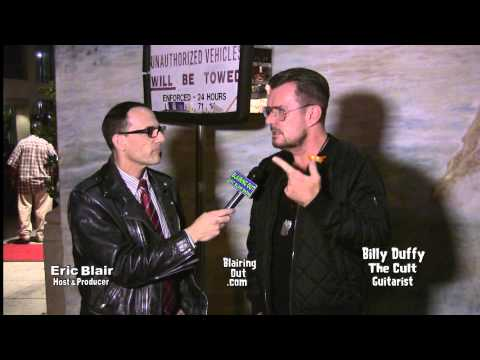 The Cult's Billy Duffy talks W Eric Blair @ The Rock Against MS event