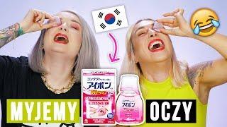 ♦ WTF?! 🇰🇷 MYJEMY GA�KI OCZNE! Test dziwnego płynu z Korei 😂 RLM i Agnieszka Grzelak Beauty
