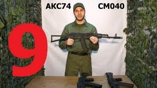 Обзор. Краткий обзор приводов АК74 и АК105 серий СМ040 и СМ045 (CYMA)
