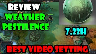 dota2 : Review Weather Effects - Weather Harvest @Best video setting !!!