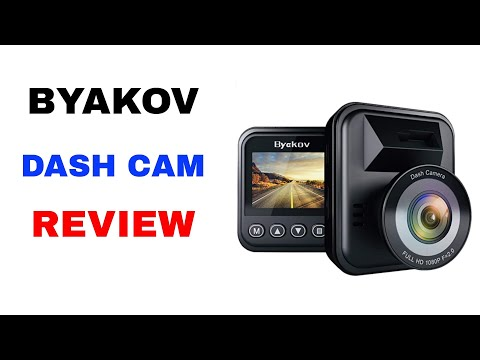 How to use the BYAKOV 1080P Dash Cam with Driving Footage