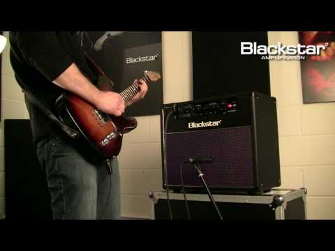"Demonstration of the New Blackstar HT-20 Studio 1x12"" combo from the Blackstar HT-Venue Series."